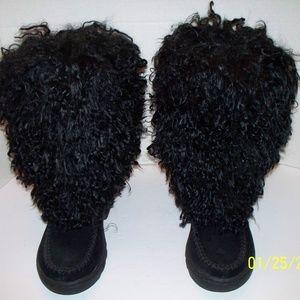 Hush Puppy Shaggy Boots